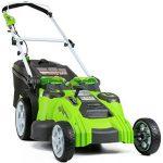 Brezžična kosilnica GreenWorks 25302 je enostavna za uporabo