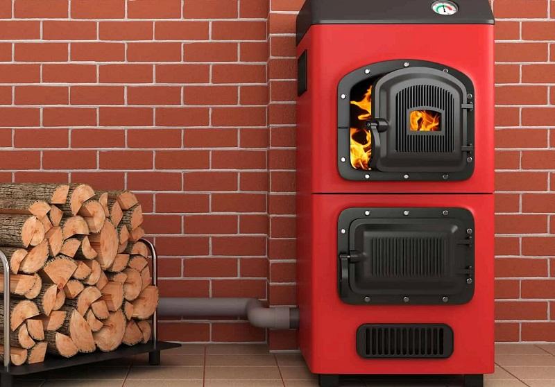 Klasična centralna peč na drva