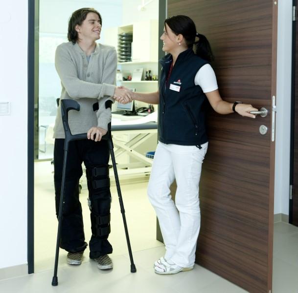 Bergle pacientu olajšajo hojo