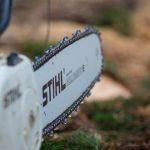 Motorna žaga Stihl brezhibno opravi svoje delo